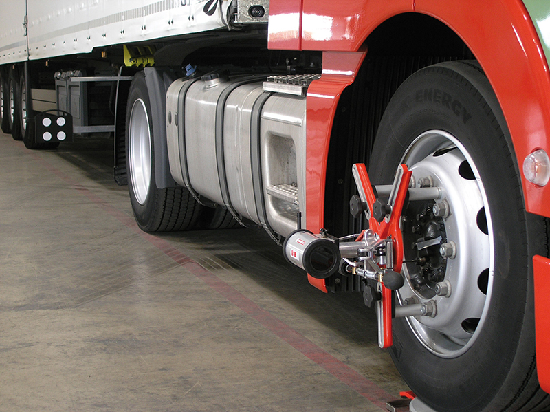 Haweka Axis4000 Mobile Truck Wheel Alignment
